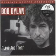 Bob Dylan Love And Theft - Sealed USA super audio CD