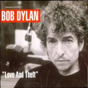 Bob Dylan Love And Theft UK 2-LP vinyl set
