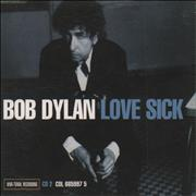 Bob Dylan Love Sick - Parts 1 & 2 Austria 2-CD single set