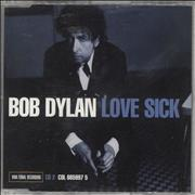 Bob Dylan Love Sick 2 Austria CD single