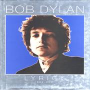 Click here for more info about 'Bob Dylan - Lyrics 1962 - 2001'