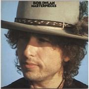 Bob Dylan Masterpieces + Certificate Japan 3-LP vinyl set