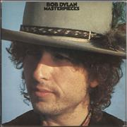 Click here for more info about 'Bob Dylan - Masterpieces - VG'