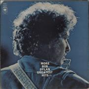 Click here for more info about 'More Bob Dylan Greatest Hits - 1st - EX'