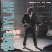 Bob Dylan Most Of The Time USA CD single Promo