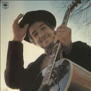 Bob Dylan Nashville Skyline - No Printer UK vinyl LP