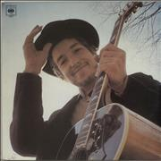 Bob Dylan Nashville Skyline - red label UK vinyl LP