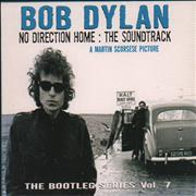 Bob Dylan No Direction Home UK 2-CD album set