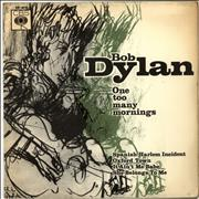 Click here for more info about 'Bob Dylan - One Too Many Mornings E.P. - VG'