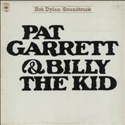 Bob Dylan Pat Garrett & Billy The Kid - Red Label UK vinyl LP