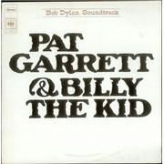 Bob Dylan Pat Garrett & Billy The Kid Italy vinyl LP