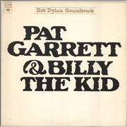 Bob Dylan Pat Garrett & Billy The Kid USA vinyl LP