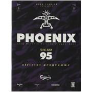 Bob Dylan Phoenix - 13-16 July 95 UK tour programme