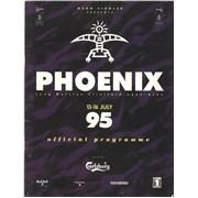Bob Dylan Phoenix 95 UK tour programme