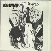 Bob Dylan Planet Waves + Insert / Stickered shrink UK vinyl LP