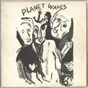 Bob Dylan Planet Waves - 1st + Insert - EX UK vinyl LP