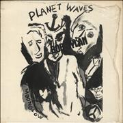 Bob Dylan Planet Waves - 1st + Insert - Stickered shrink UK vinyl LP