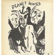Bob Dylan Planet Waves + insert USA vinyl LP