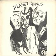 Bob Dylan Planet Waves USA vinyl LP