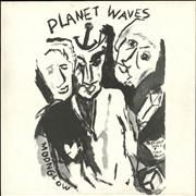 Bob Dylan Planet Waves - Dutch sleeve UK vinyl LP