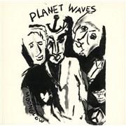 Bob Dylan Planet Waves USA vinyl LP