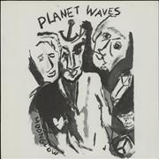 Bob Dylan Planet Waves Japan vinyl LP