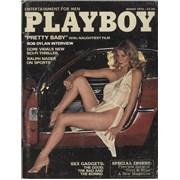 Bob Dylan Playboy March 1978 UK magazine
