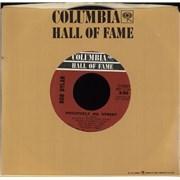 "Bob Dylan Positively 4th Street USA 7"" vinyl"