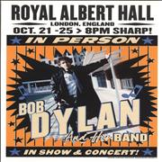 Click here for more info about 'Bob Dylan - Royal Albert Hall 2015 October Lithograph - Orange'