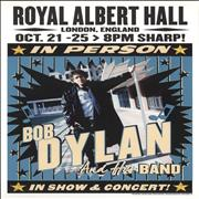 Click here for more info about 'Bob Dylan - Royal Albert Hall 2015 October Lithograph - Blue'