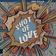 Bob Dylan Shot Of Love - export USA vinyl LP