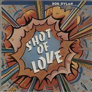 Bob Dylan Shot Of Love Australia vinyl LP