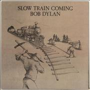 Bob Dylan Slow Train Coming UK vinyl LP