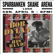 Click here for more info about 'Bob Dylan - Sparbanken Spane Arena 2017 Lithograph - Pink, Black & Silver'