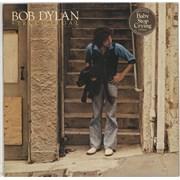 Bob Dylan Street Legal - Stickered UK vinyl LP