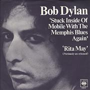 "Bob Dylan Stuck Inside Of Mobile With The Memphis Blues Again UK 7"" vinyl"