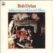 Bob Dylan Subterranean Homesick Blues Portugal vinyl LP