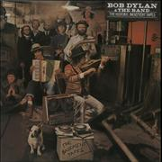 Bob Dylan The Basement Tapes - 1st - stickered Netherlands 2-LP vinyl set