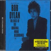 Bob Dylan The Best Of The Original Mono Recordings UK CD album