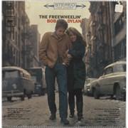 Bob Dylan The Freewheelin' Bob Dylan - 1st - shrink USA vinyl LP