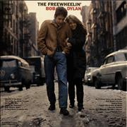 Bob Dylan The Freewheelin' Bob Dylan - 1st + Song Hype Sticker USA vinyl LP