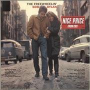Bob Dylan The Freewheelin' Bob Dylan - Nice Price Stickered Netherlands vinyl LP