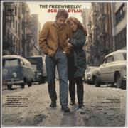 Bob Dylan The Freewheelin' Bob Dylan USA vinyl LP