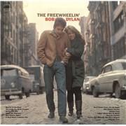 Bob Dylan The Freewheelin' Bob Dylan USA vinyl LP
