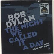 Click here for more info about 'Bob Dylan - The Night We Called It A Day - Blue Vinyl'