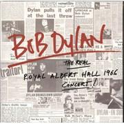 Bob Dylan The Real Royal Albert Hall 1966 Concert! UK 2-LP vinyl set