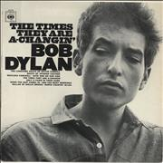 Click here for more info about 'Bob Dylan - The Times They Are A-Changin' - graduated orange'