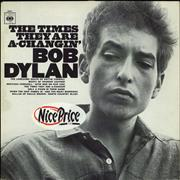 Click here for more info about 'Bob Dylan - The Times They Are A-Changin' - Red Label - Stickered Sleeve'