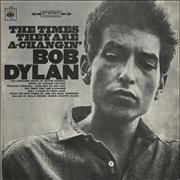 Bob Dylan The Times They Are A-Changin' Portugal vinyl LP