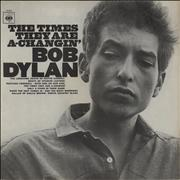 Bob Dylan The Times They Are A-Changin' - 2nd UK vinyl LP